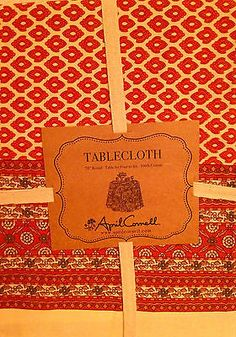 607a99ccd04 April-Cornell-Tablecloth-70-Round-NWT