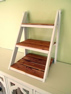 Mini Ladder Shelf For Serving & Organization
