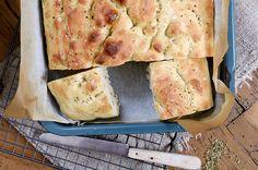 Den beste focacciaen Food And Drink, Dairy, Cheese, Baking, Den, Patisserie, Bakken, Bread, Backen