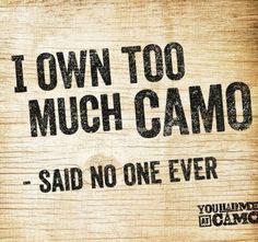 Said no one ever!