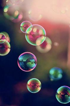 There is no angry way to say bubbles.