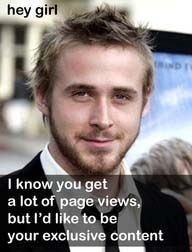"80 Of The Best Ryan Gosling ""Hey Girl"" Posts"