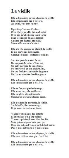 La Vieille - Michel Sardou