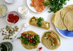 The Brown Paper Bag | CHICKPEA CREPES