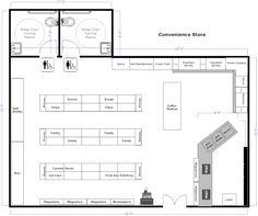 Convenience Store Floorplan