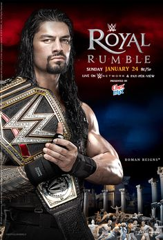 WWE Royal Rumble 2016 Official Poster by Jahar145