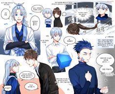 Embedded Aesthetic Art, Aesthetic Anime, Gods Princess, Korean Anime, Lore Olympus, Ship Art, Boy Art, Animes Wallpapers, Webtoon