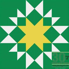 Piece N Quilt: How to: Aunt Mary's Star - 30 Days of Sewing Quilt Blocks - Star Version!