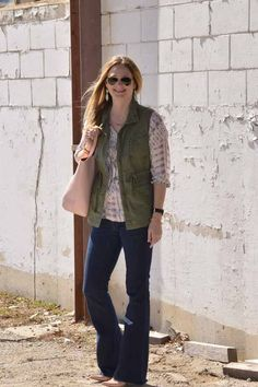 Style in a Small Town | Boho Top   Cargo Vest | http://www.styleinasmalltown.com