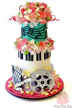 Wedding Cake. This is beautiful.