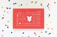 Découvrez sur www.papiers-urbains.fr une sélection inspirante d'invitations à des baby-shower dénichées outre Atlantique.