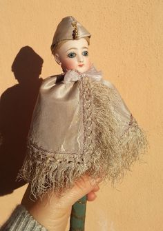 Antique Jumeau. marotte. doll. Rare. early by bamboleantiche