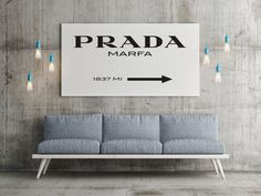 Printable Quotes Prada Marfa Print Art By Mixarthouse