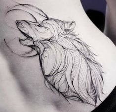 43 Ideas For Design Tattoo Drawing Wolves Ozzy Tattoo, P Tattoo, Body Art Tattoos, Tattoo Drawings, Tribal Wolf Tattoo, Wolf Tattoo Design, Tattoo Designs, Eagle Tattoos, Wolf Tattoos