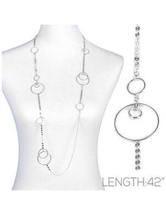 Long Disc Chain Necklace Stone Drop Silver Tone Women Fashion Jewelry #DazzledByJewels #Chain #DazzledByJewels #fashion #fashionista #fashionstyle #style #styleinspiration #trend #trendy #trending #trends  #jewelry #jewelryaddict #shopping #jewelryforsale #jewelryoftheday #jewelrybox #jewelrylovers #instyle  #trendsetter #glam #gift #giftsforher #women #teen #necklace #longnecklace