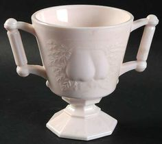 JeannetteShell Pink-Milk Glass at Replacements, Ltd