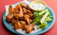 Boiled and Baked Buffalo Wings