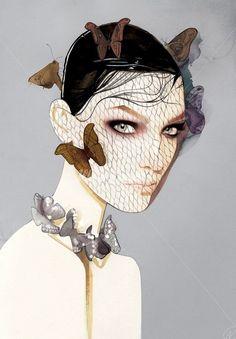 Fashion Illustrations by Nuno Da Costa   Art and Design