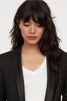 Jacket - Black - Ladies | H&M US 2 #bobwithfringe