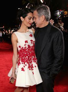 Wauw! Deze Giambattista Valli jurk van Amal Clooney is prachtig!