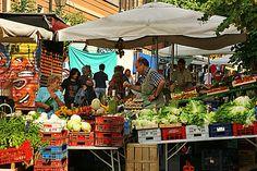 Pigneto market, Rome