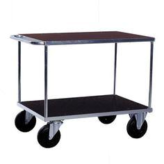 GTARDO.DE:  Tischwagen 2 Ladeflächen, Tragkraft 500 kg, Ladefläche 1000x700 mm, Maße 1100x700 mm 266,00 €