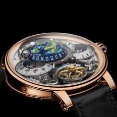 Bovet 1822 Swiss handcrafted timepiece Dimier Récital 22 Grand Récital with Flying Tourbillon Tellurium-Orrery and Retrograde Perpetual Calendar Fancy Watches, Expensive Watches, Luxury Watches For Men, Cool Watches, Rolex, Best Watch Brands, Fashion Watches, Accessories, Perpetual Calendar