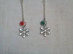 Snowflake EarringsSilver SnowflakesWinter by JypsyJewels on Etsy