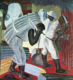 Cana, 1938 by Candido Portinari. Harlem Renaissance, Clemente Orozco, Modern Art Styles, Social Realism, Paint Photography, Magic Realism, Art Deco, Modern Artists, Cubism