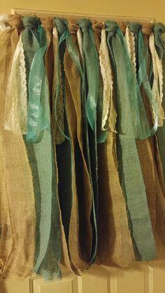 No Sew Curtains Burlap, Lace, U0026 Ribbon. If You Can Make A Tutu