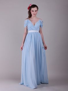 romantic off-the-shoulder bridesmaid gown $149.99