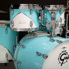 Scott's Gretsch Drums Renown 57 Motor City Blue