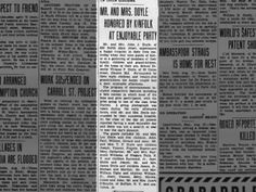 Party for Mr. and Mrs. Doyle 13 Aug 1936 PIttston Gazette