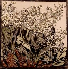 Margaret Preston Wood cut - We have a few of her works on here but I don't think this one is pinned and I like it. S