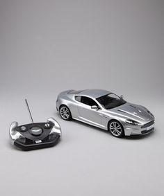 Silver Aston Martin DBS Remote Control Car by CIS Associates on #zulily