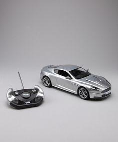 Silver Aston Martin DBS Remote Control Car by CIS Associates on #zulily