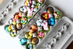 Great simple and easy idea for easter gifts, wrapped in some nice paper or decorated by the kids.
