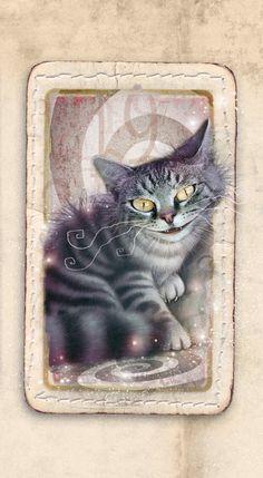 Zdenko Basic - Alice in Wonderland - Cheshire Cat Alice In Wonderland Book, Alice In Wonderland Costume, Adventures In Wonderland, Creepy Cat, Chesire Cat, Alice Tea Party, Wonder Art, Alice Madness, Weird Art
