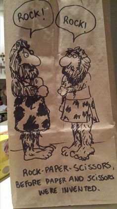 Everyday, this kid has a new hand-drawn comic on his lunch bag.