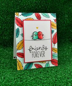 Feathered Friends… Lawn Fawn STAMPtember® Exclusive!