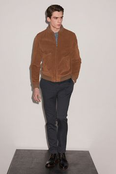 A.P.C. Fall 2015 Menswear Fashion Show: Complete Collection - Style.com