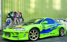 Ten Worst Movie Cars - 7. Paul Walker's Mitsubishi Eclipse from The Fast and the Furious