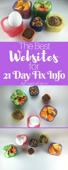 The Best Websites for 21 Day Fix Info - http://mycrazygoodlife.com/the-best-websites-for-21-day-fix-info/?utm_campaign=coschedule&utm_source=pinterest&utm_medium=Uprising%20Wellness