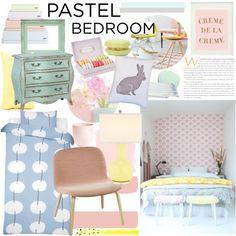 A Sweet Pastel Bedroom