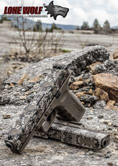 Nice Lone Wolf frame. That Camo slide really blends well with the background.
