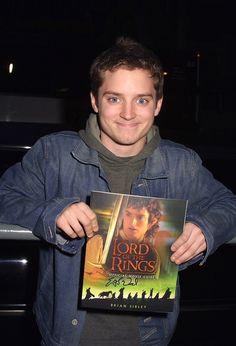 Elijah Wood in LOTR as Frodo Baggins