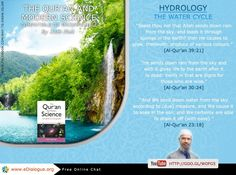 The Water Cycle, From the book: The Qur'an and Modern Science Compatible or Incompatible By: Zakir Nike -------------- Chat online: www.eDialogue.org