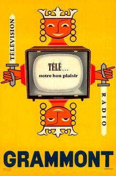 Hertereau: Grammont Radio-Télévision (1960).