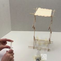 Elevator~ STEM project Use hydraulics to raise and lower an elevator! This is an awesome STEM project for middle or high school students! Use hydraulics to raise and lower an elevator! This is an awesome STEM project for middle or high school students!