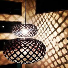 Two #DavidTrubridge KINA's #lighting